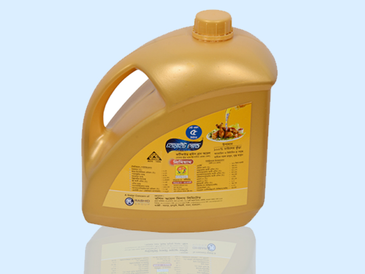 Rice Bran Oil 5ltr.